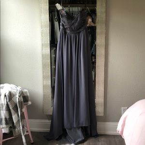 Beautiful Grey size 6 Formal Gown